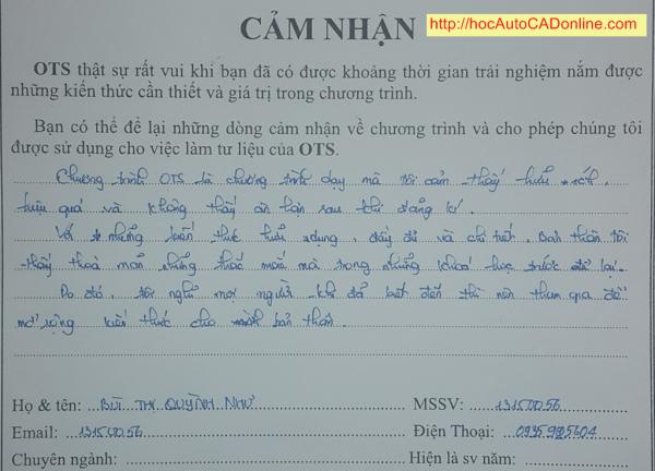cam nhan hoc autocad online cua Bui Thi Huynh Nhu 12-03-2015
