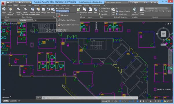 AutoCAD ứng dụng trong xử lý bản vẽ kỹ thuật.