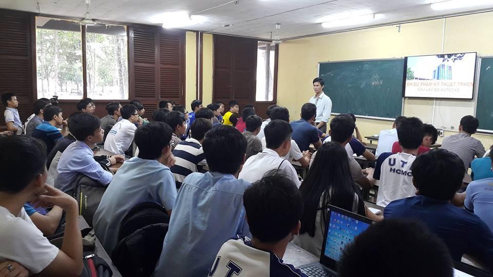 Một buổi trao đổi về phương pháp học AutoCAD nhanh và hiệu quả với sinh viên trường ĐH Sư phạm kỹ thuật TP.Hồ Chí Minh