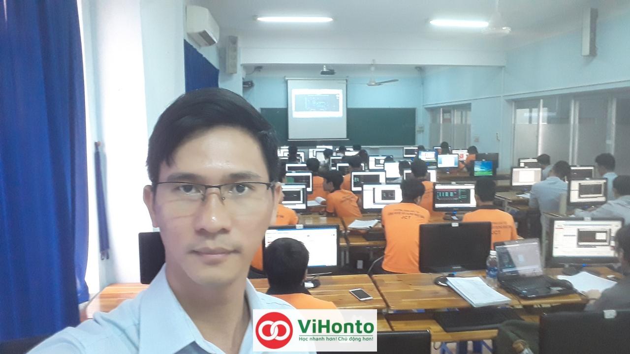 Khoa hoc AutoCAD voi chuong trinh hoc Online cua ViHonto 2