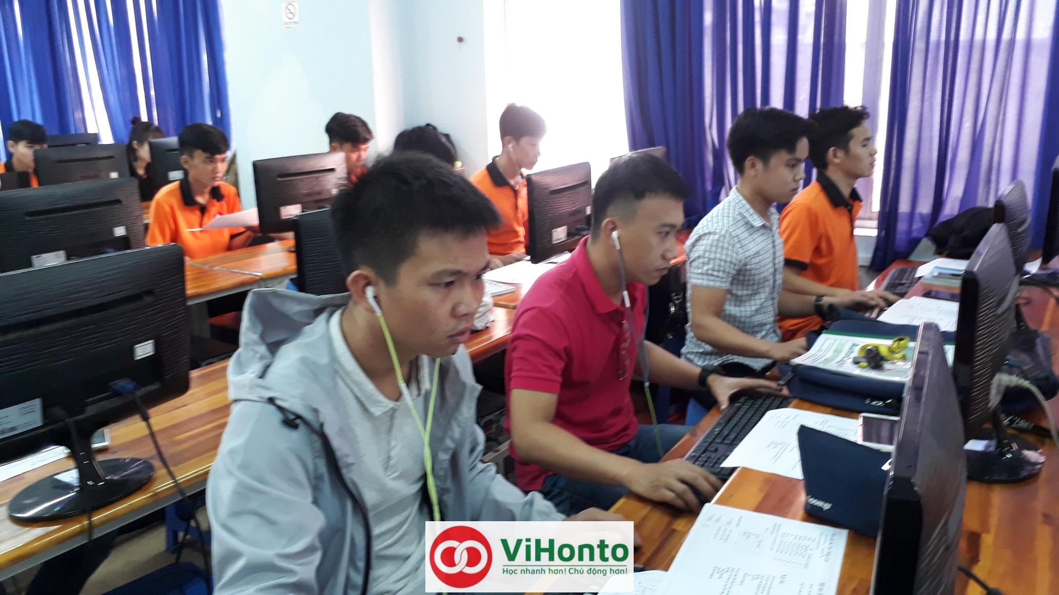 Khoa hoc AutoCAD voi chuong trinh hoc Online cua ViHonto rat hieu qua