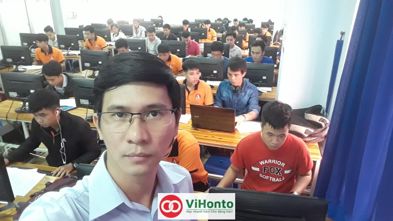 Khoa hoc AutoCAD voi chuong trinh hoc Online cua ViHonto